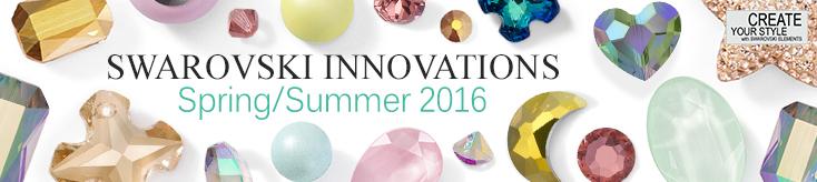 Nová kolekce Swarovski Elements Jaro/Léto 2016