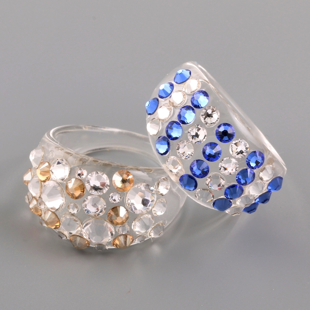 DIY SWAROVSKI RING TUTORIAL