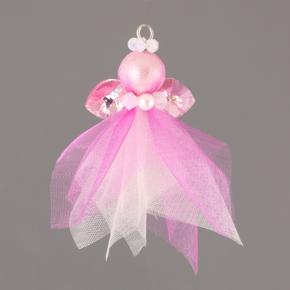 SWAROVSKI ANGEL DIY CHRISTMAS ORNAMENT