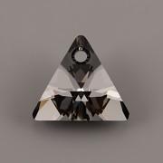 Swarovski Elements přívěsky 6628 - XILION Triangle - Silver Night - 12mm
