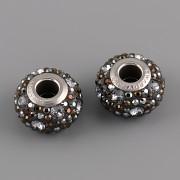 BeCharmed MEDLEY korálky Swarovski Elements 181504 – Hematite mix