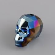 Korálek LEBKA Swarovski Elements 5750 - MetalicBlue 2x - 13mm