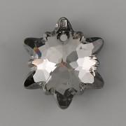 Swarovski Elements přívěsky 6748 PROTĚŽ - Silver Night - 18mm