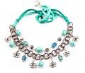Tyrkysový něžný náhrdelník