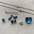 Návod na náhrdelník - korálky Swarovski a stříbrné komponenty