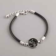 SWAROVSKI LEATHER BRACELET