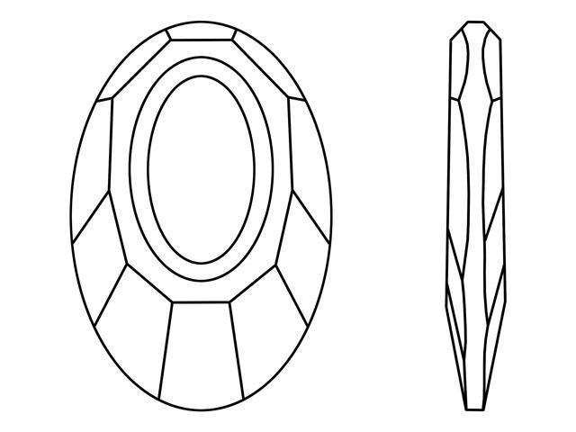 Komponenty Swarovski - přívěsek Helios