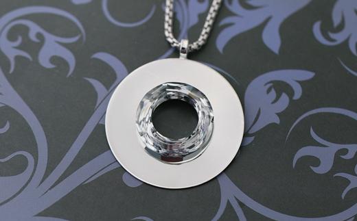 Děravý náhrdelník s kamínky Swarovski Elements s kaminky swarovski ... e098c34f342