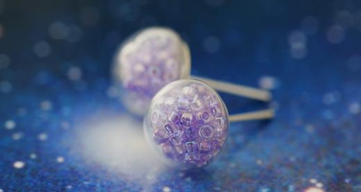 Inspirace na šperky se skleněnými bublinami Inspirace na šperky se ... 7224db463a