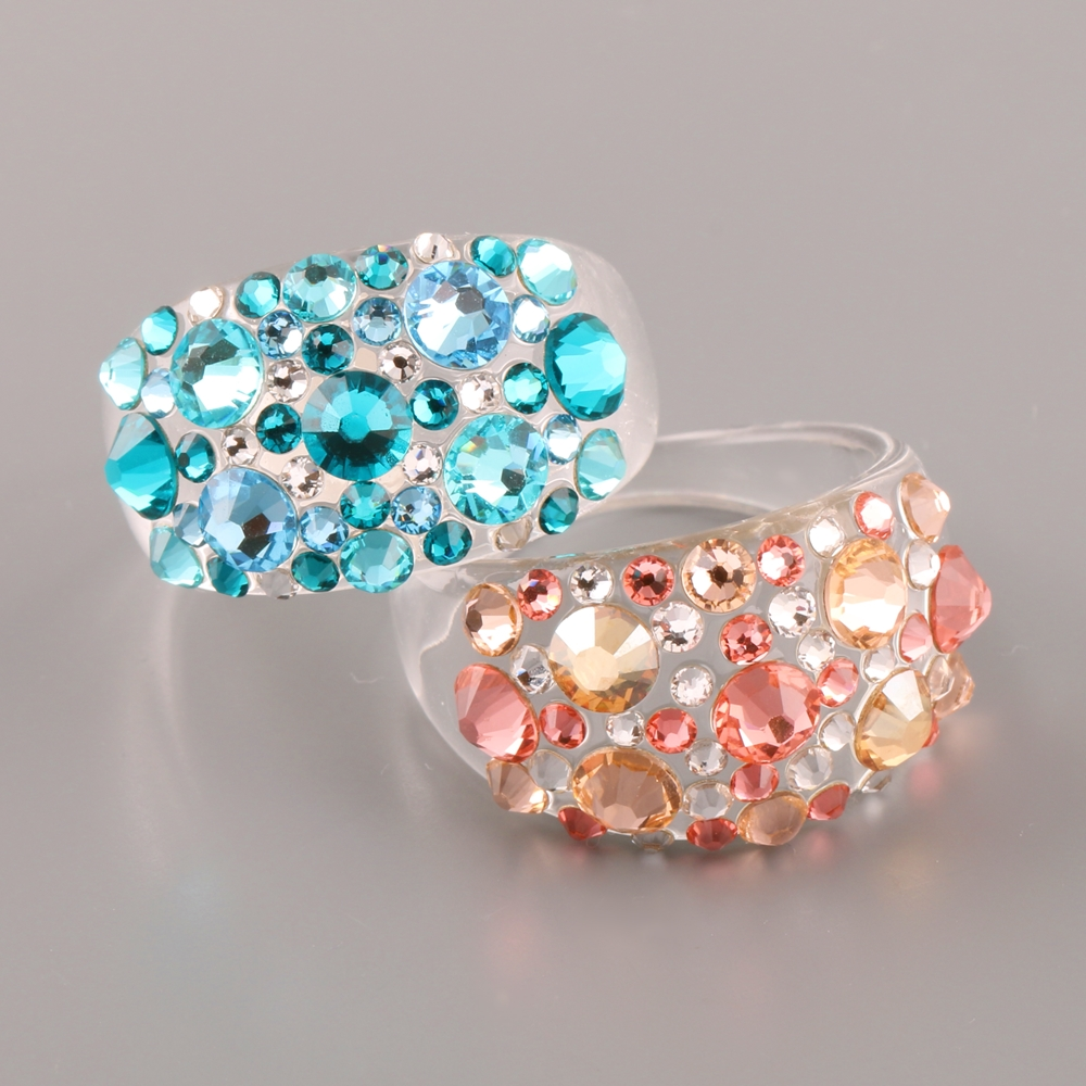 Ring with Swarovski Elements