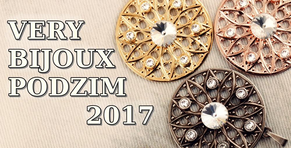 Kolekce komponentů pro Swarovski Elements - VERY Bijoux Podzim 2017