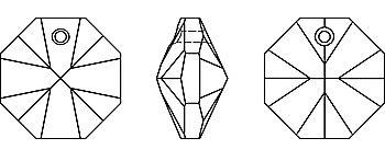 Octagon KOMPONENTY SWAROVSKI 6401