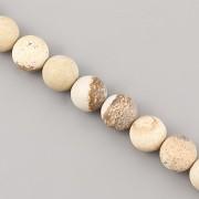 Korálky z minerálů - Žluté Tygří Oko MAT - 8mm
