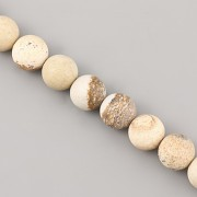 Korálky z minerálů - Žluté Tygří Oko MAT - 10mm