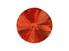 Swarovski Elements Rivoli 1122 – Padparadscha Foiled – 8mm