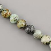 Korálky z minerálů - Tyrkys AFRIKA - 10mm