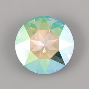 Round Stone Swarovski Elements 1201 – Paradise Shine Foiled – 27mm