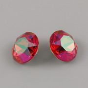 Swarovski Elements XIRIUS Chaton 1088 – Scarlet Luminous Green – 8mm