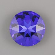 Round Stone Swarovski Elements 1201 – Majestic Blue Foiled – 27mm