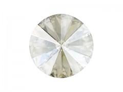 Swarovski Elements Rivoli 1122 – Silver Shade Foiled – 18mm