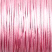 Šnůrka SATÉNOVÁ - světle růžová - 1mm