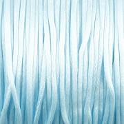 Šnůrka SATÉNOVÁ - miminkovsky modrá - 1mm