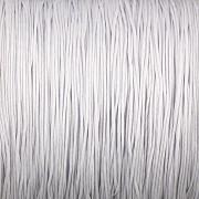 Šnůrka SPLÉTANÁ - stříbrná - 0,5mm