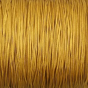 Šnůrka SPLÉTANÁ - zlatá - 0,5mm