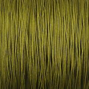 Šnůrka SPLÉTANÁ - olivová - 0,5mm