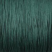 Šnůrka SPLÉTANÁ - tmavě zelená - 0,5mm