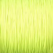 Šnůrka SPLÉTANÁ - neonová zelená - 0,5mm