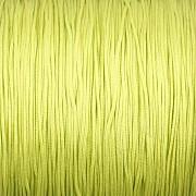 Šnůrka SPLÉTANÁ - jarní zelená - 0,5mm