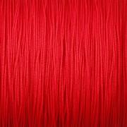 Šnůrka SPLÉTANÁ - červená - 0,5mm