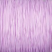 Šnůrka SPLÉTANÁ - fialková - 0,5mm