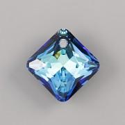 Swarovski Elements přívěsky 6431 Princess Cut – Bermuda Blue - 14mm