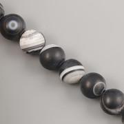Korálky z minerálů - Onyx MAT - 8mm