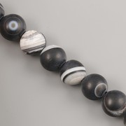 Korálky z minerálů - Onyx MAT - 6mm