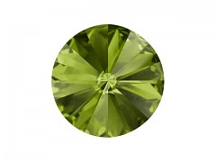 Swarovski Elements Rivoli 1122 – Olivine Foiled – 8mm