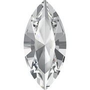 Swarovski NAVETTE 4228 – Crystal - 15mm