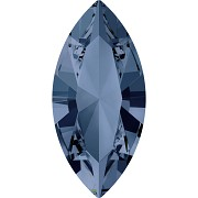 Swarovski NAVETTE 4228 – Denim Blue - 15mm