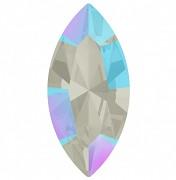 Swarovski NAVETTE 4228 – Light Sapphire  Shimmer - 15mm