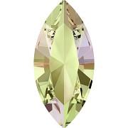 Swarovski NAVETTE 4228 – Luminious Green - 15mm