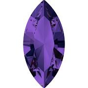 Swarovski NAVETTE 4228 – Purple Velvet - 15mm