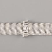 Přívěsek na páskový náramek - MÁMA - stříbrná