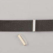 Přívěsek na páskový náramek - STOPPER - stříbrný
