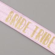PRUŽENKA - Fialová se zlatým BRIDE TRIBE - 15mm (kopie)