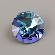 Round Stone Swarovski Elements 1201 – Aquamarine Vitrail Light Foiled – 27mm