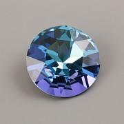 Round Stone Swarovski Elements 1201 – Aquamarine Vitrail Light Foiled – 27mm