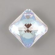 Swarovski Elements přívěsky 6431 Princess Cut – Crystal BLUE AB - 11mm