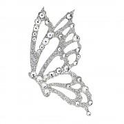 Nalepovací šperk na tělo a vlasy - MOTÝL - Crystal